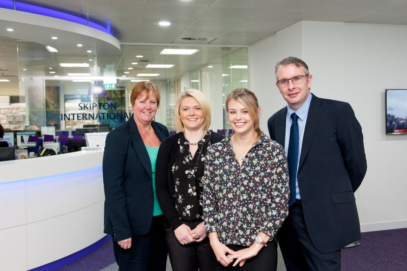 Four new promotions for Skipton International