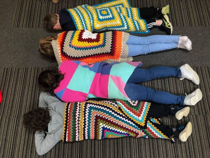 Skipton supports Project Linus in donating blanket 'hugs'
