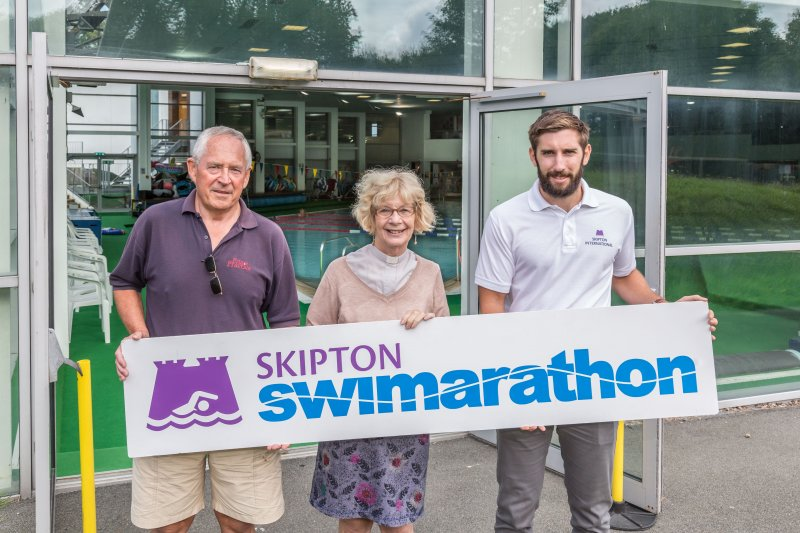 First ambassador who can't swim for 41st Skipton Swimarathon