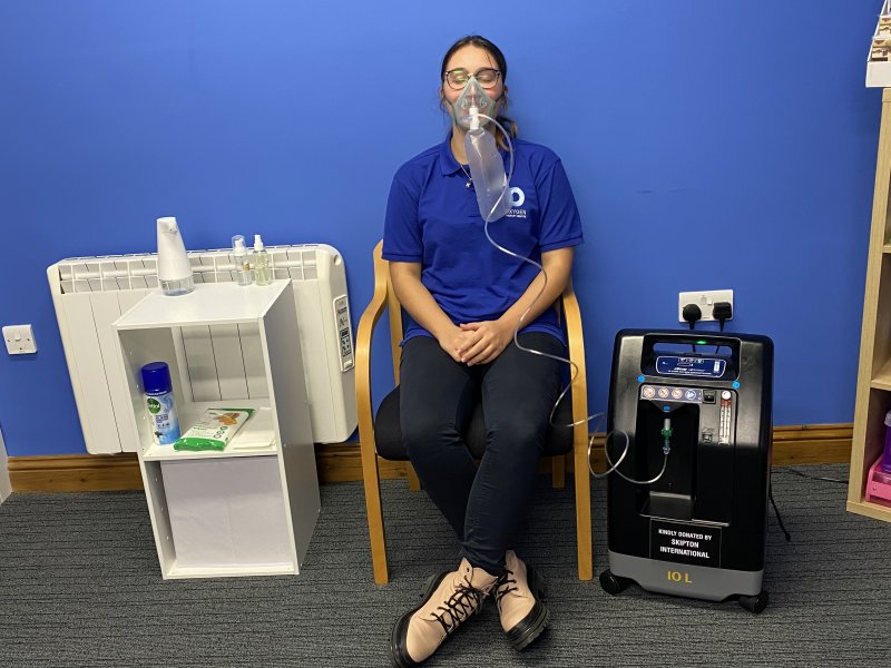 Oxygen Therapy provided by Skipton Community Fund