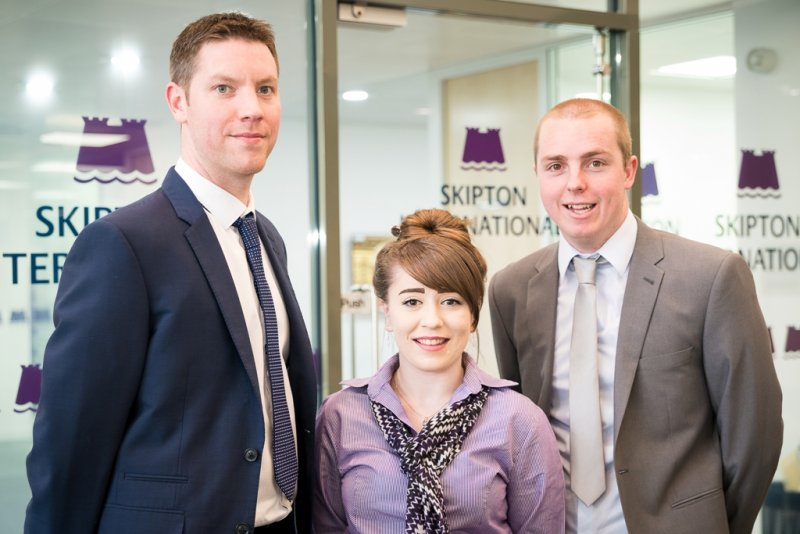 Three new team members for Skipton International