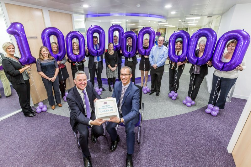 Skipton International celebrates £1 billion of mortgages