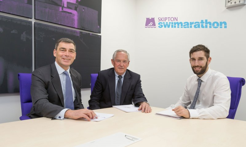 New Chairman and Treasurer for 2017 Skipton Swimarathon