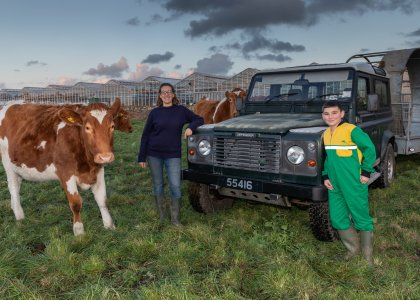 Young conservationist secures support for Conversation Herd