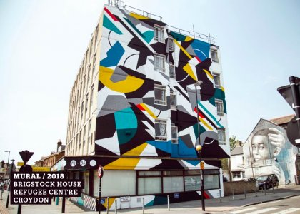 Renowned London muralists to inspire local schoolchildren