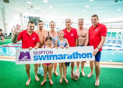 Skipton Swimarathon breaks £60k barrier in time for Christmas