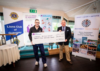 Skipton Swimarathon celebrates corporate support